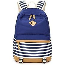 XYZHF* Borsa doppio studente borsa di scuola media sacchetto computer Violet 45*32*14.5CM