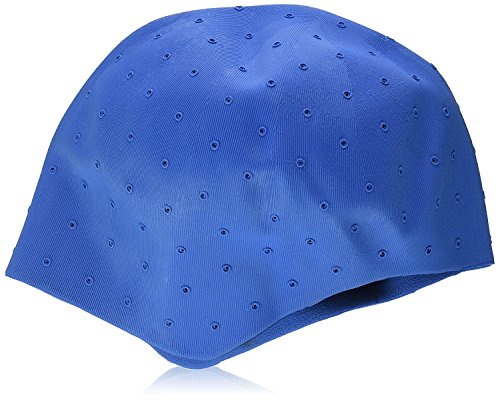 Efalock Bonnet à mèches en caoutchouc Bleu