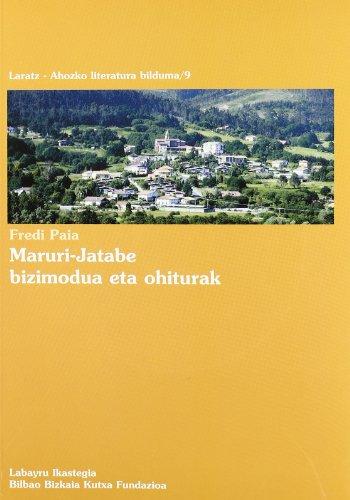 Maruri-Jatabe Bizimodua Eta Ohiturak