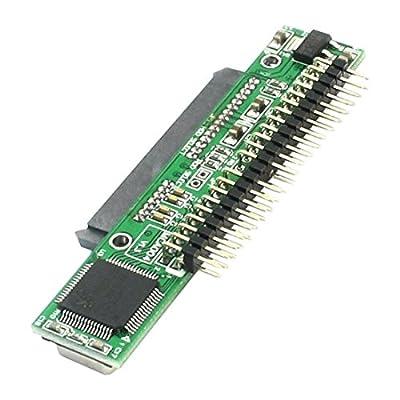SODIAL 7 + 15 broches SATA SSD HDD femelle a 2.5 pouce 44broches IDE male adaptateur pour ordinateur portable de SODIAL