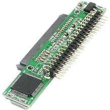 """SATA SSD a 2,5 IDE adaptador macho - TOOGOO(R) 7 + 15 pin SATA SSD HDD hembra a 2,5"""" 44 pin IDE adaptador masculino para el ordenador portatil"""