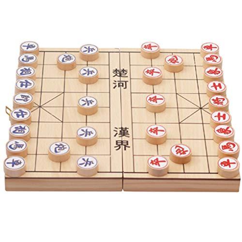 Niños Desarrollo de la Inteligencia de Juguetes educativos de Madera Plegable Juego de ajedrez Chino para la Educación Regard
