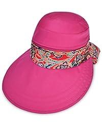Vbiger Visor Hat for Women Wide Brim Cap UV Protection Summer Sun Hat