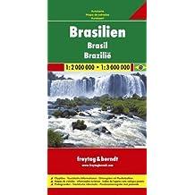 Freytag Berndt Autokarten, Brasilien: Road Map (Carte Routière)