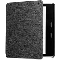 Kindle Oasis Water-Safe Fabric Cover (9th Generation - 2017 Release), Charcoal Black