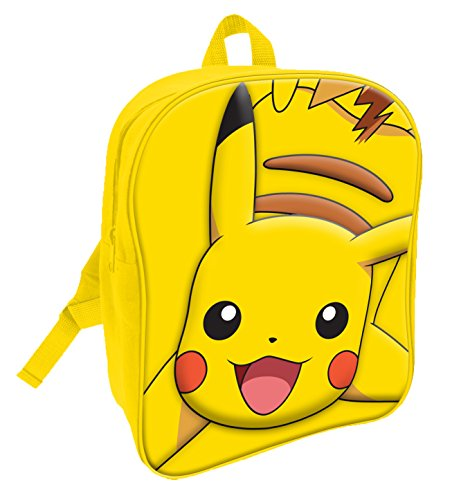 pokemon-sac-a-dos-enfants-jaune-jaune-pok001009