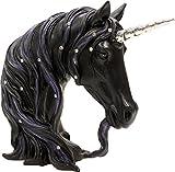 Nemesis Now Einhorn schwarz Jeweled Pegasus Brustumfang Fantasy Legends Jeweled Midnight