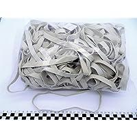 Progom - Gomas Elasticas - 200(Ø127)mm x 10mm - blanco - bolsa de 1kg