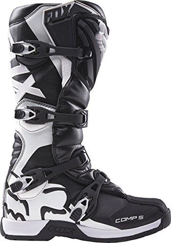 Fox Motocross-Stiefel Comp 5 Schwarz Gr. 44