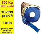 NiNeKa 6 Zurrgurte Spanngurte Zurrgurt Spanngurt 800 daN 800 kg 0,8 to 1 teilig 5 m
