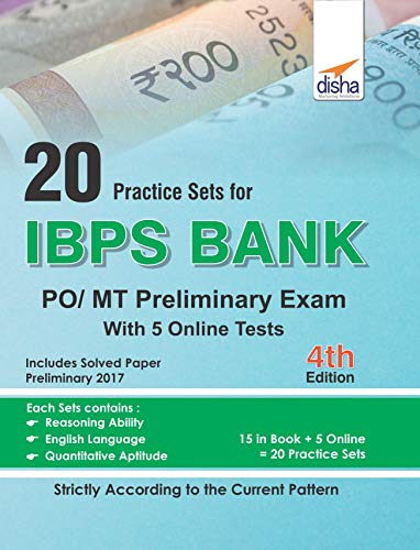 20 Practice Sets for IBPS PO/MT Preliminary Exam with 5 Online Tests