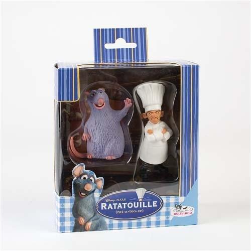 Preisvergleich Produktbild Bullyland 12162 WD Ratatouille Pack Skinner & Django