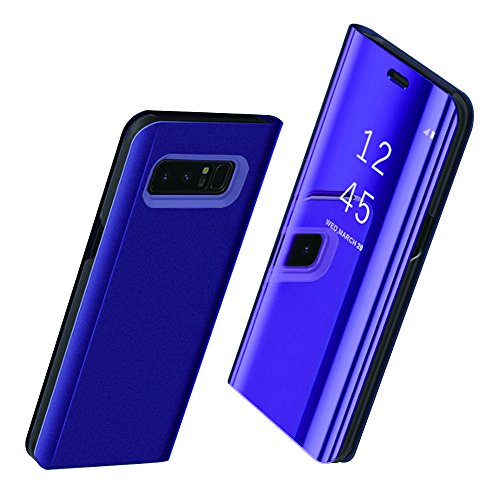 Samsung Galaxy S8 / S8 Plus / Note 8 Hülle , Pacyer ® Business Serie Hart Case Spiegelnd Cover Kratzfeste Hard Prämie PC Bumper Anti-Scratch Handyhülle Schutzhülle für (Lila, Galaxy S8 Plus)