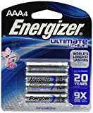 ENERGIZER Ultimate Lithium L92 4 AAA ON CARD