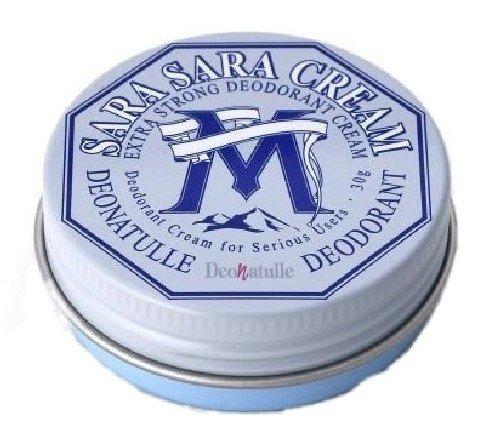 Deonatulle for MEN Medicated SARA SARA Cream 30g - Japans best-selling natural deodorant (japan import)