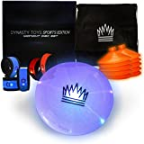 Outdoor Games At Night - Led Glow In The Dark Flying Disc Game. The Ultimate Night Time Event For Youth Groups And Glow Disc Throwing Aficionados