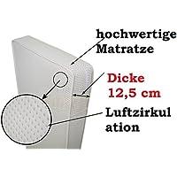 Kinderbett Matratze 120x60 cm Kokosnuss / Schaum / Kokosnuss Dicke 12,5 cm !!! preisvergleich bei kinderzimmerdekopreise.eu