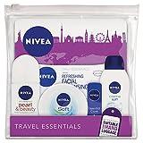 Nivea Set de Elementos Esenciales de Viajes para Mujeres