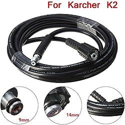 ZREAL 5M 5800PSI / 160BAR Tuyau de Rechange Haute Pression pour Nettoyeur Kärcher K2