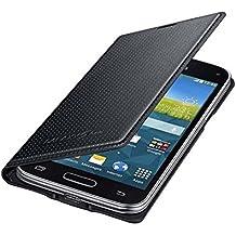 Samsung BT-EFFG800BK - Funda tipo flip para Samsung G800F Galaxy S5 mini, color negro