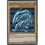"Carte Yu-Gi-Oh! ""Dragon Blanc aux Yeux Bleus"" DUSA-FR043 - VF/ULTRA RARE"