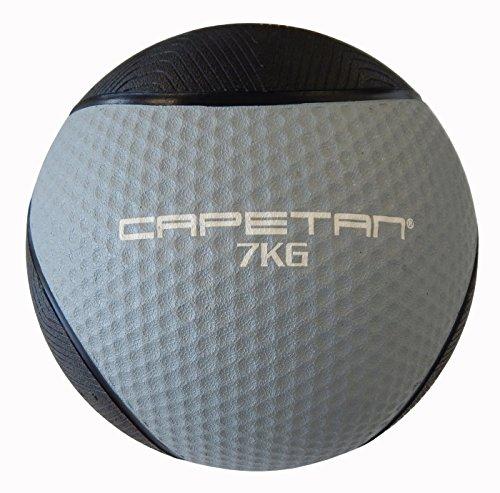 Capetan Professional Line 7 kg springender Medizinball aus Gummi (auf Wasser schwimmend)