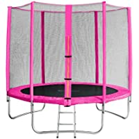 SixBros. SixJump Garden Trampoline - Safety net - Ladder - Protection cover