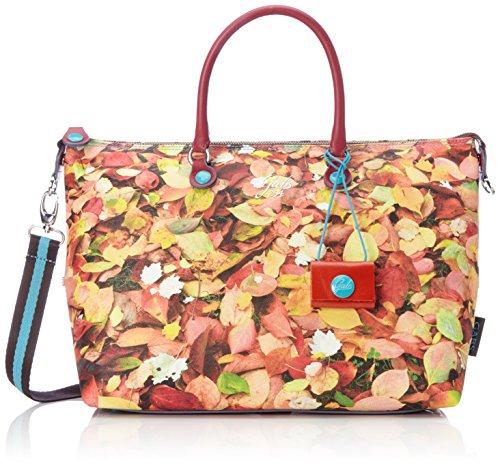 GABS - Katia, Borse a tracolla Donna Multicolore (Foglie)