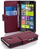 Cadorabo - Funda Nokia Lumia 1320 Book Style de Cuero Sintético en Diseño Libro - Etui Case Cover...