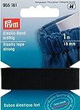 PRYM 955181 Elastic-Band kräftig 18mm schwarz