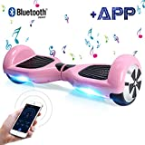 BEBK Hoverboard, 6.5' Smart Self Balance Scooter Overboard con Bluetooth,...