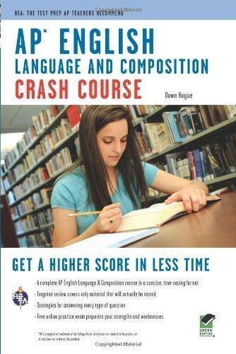 AP? English Language & Composition Crash Course Book + Online (Advanced Placement (AP) Crash Course) by Hogue, Dawn, Advanced Placement (2010) Paperback