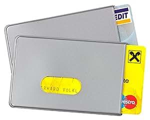 2 x RFID Schutzhüllen von BE-HOLD sind die idealen Scheckkartenhüllen zum Schutz vor Datendieben