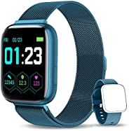 NAIXUES Smartwatch Orologio Fitness Sportivo Donna Uomo Impermeabile Smartband Cardiofrequenzimetro Contapassi