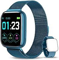 NAIXUES Smartwatch Orologio Fitness Sportivo Donna Uomo Impermeabile Smartband Cardiofrequenzimetro Contapassi da Polso...