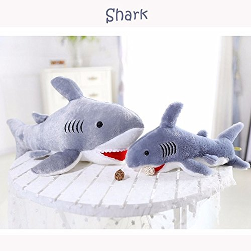 Get Zooarts Giant Shark Soft Plush Pillow Toy Stuffed Animals Back