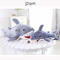 zooarts gigante tiburón suave almohada de felpa juguete animales De Peluche cojín para la espalda (