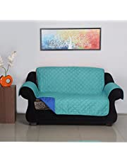 2 Seater Reversible Sofa Cover 179 cm x 223 cm - @home by Nilkamal