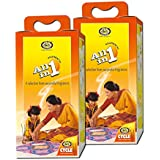 Cycle Pure All in One Agarbathies wiith Free Kumkum & Turmeric Powder - Pack of 2