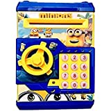 RADHE Battery Operated Mini ATM_Minions_Safe For Kids