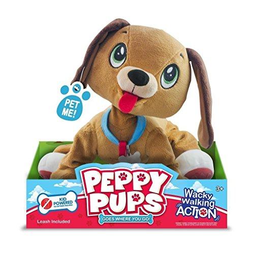 Giochi Preziosi–Peluche de toufous perro marrón, pep01a