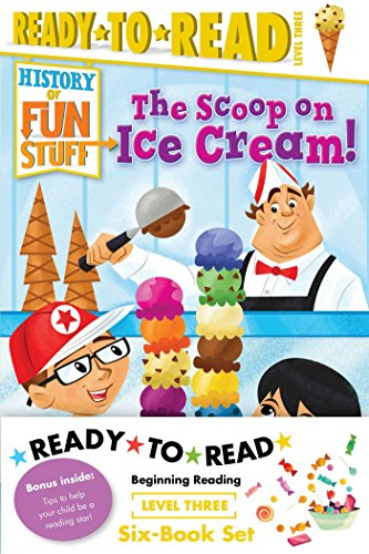 Ready-to-Read Value Pack: The Tricks and Treats of Halloween!; The Scoop on Ice Cream!; The Deep Dish on Pizza!; The Sweet Story ... Games!; The Explosive Story of Fireworks! ()