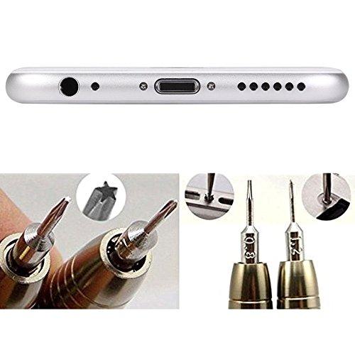 Zacro Mini Schraubendreher Set 25-teilig Präzisions Minischraubenziehern Werkzeugset für Smartphone PC Laptop Tablet