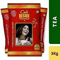 Cafe Desire Instant Cardamom Tea Premix Combo (3kg)