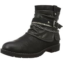 Jane Klain Damen 262 241 Combat Boots, Schwarz (Black), 39 EU