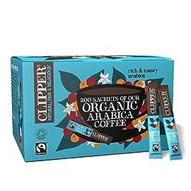 Clipper Organic & Fairtrade Instant Coffee Sticks (1 Box (200 Sticks))