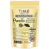 Trans Resveratrol - Premium Puredia - 180 Capsules - 3 Month Supply - Split Dosage for Maximum Benefits from Trans Resveratrol - UK Manufactured - Zero Additives