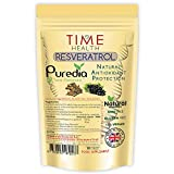 Trans Resveratrol - Premium Brand Puredia - 180 Capsules - 3 Month Supply - Effective Split Dose for Maximum Benefits from Trans-Resveratrol - UK Manufactured - Zero Additives