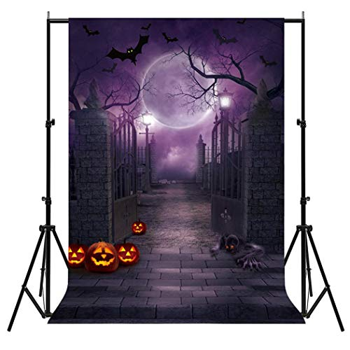 FunPa Halloween Tapisserien, Fotografie Hintergrund Horrible Foto Hintergrund Studio Prop für Halloween Party
