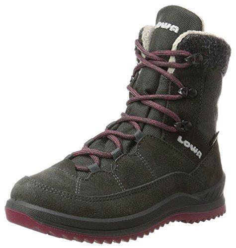 Lowa Ferrox Evo GTX Lo WS, Zapatos de Low Rise Senderismo para Mujer, Negro (Nero/Salvia 9915 9915), 36.5 EU